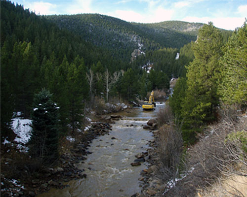 Lincoln Hills Fly Fishing Club, South Boulder Creek, Gilpin County, CO