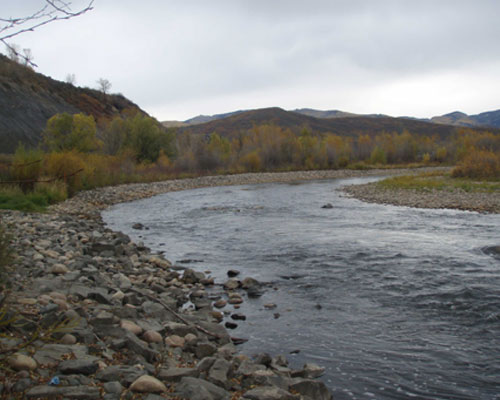 Yampa River at Fournier Park Phases I and I